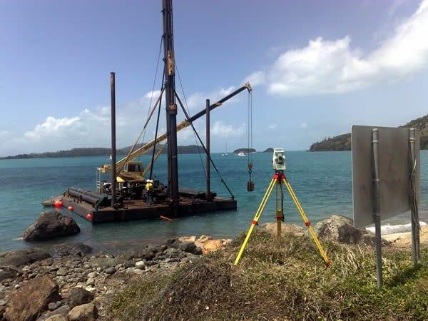 Engineering Surveys - Dent Island Golf Course