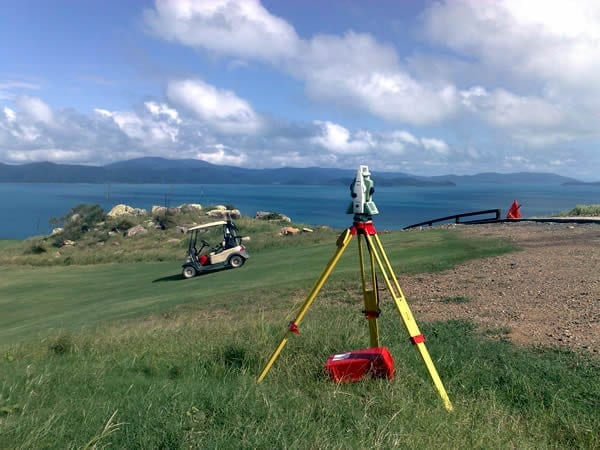 Engineering Surveys - Dent Island Golf Course